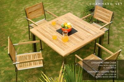 Wooden Outdoor and Garden Furniture
