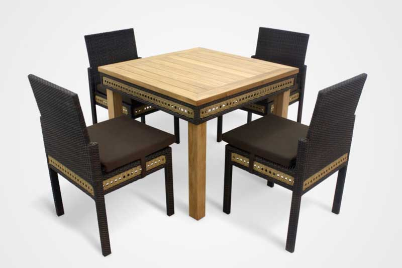 Fuerte dining set indonesia dining furniture indonesia home decor Uni home furniture indonesia