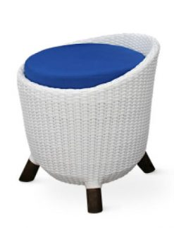 Barcelona rattan synthetic stool