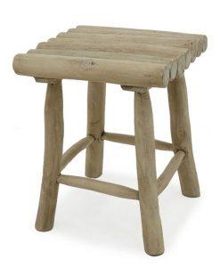 Caracas wooden stool