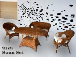 Taiwan living room rattan furniture sets