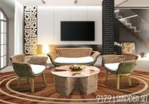 Vietnam living room rattan furniture sets
