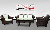 Malaysia living room rattan furniture sets