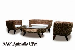 Uzbekistan living room rattan furniture sets