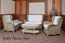 Cirebon rattan living room set