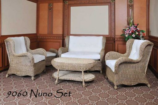 Cirebon rattan living room set