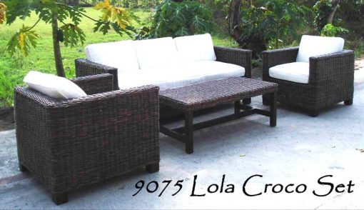 Java rattan living room set 2020