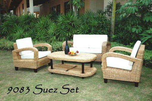 Jakarta rattan living room set
