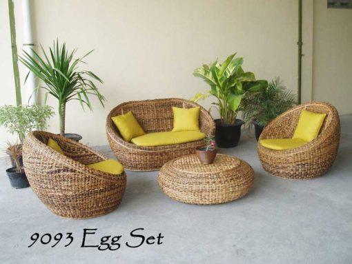 Lombok rattan living room set