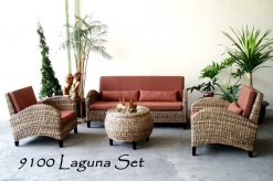 Italy rattan living room set