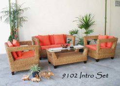 Maldives rattan living room set