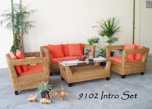 Maldives rattan living room set