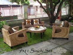 Dubai rattan living room set