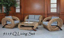 UAE rattan living room set