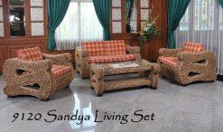 Oman rattan living room set