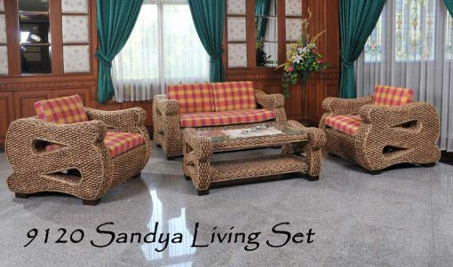 Oman rattan living room set