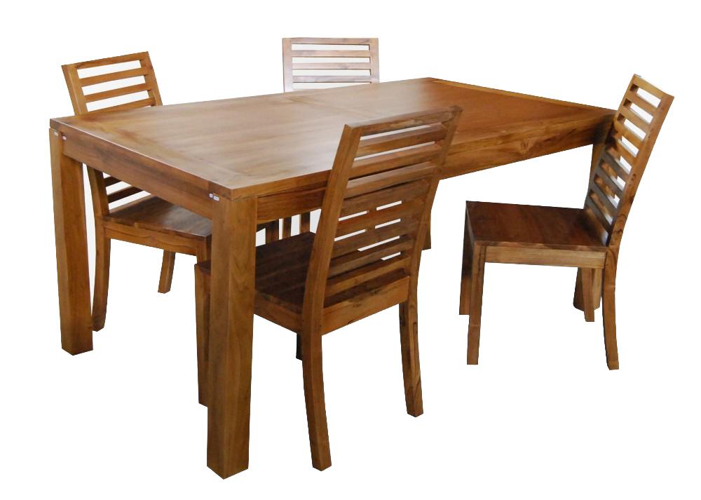 Dili Dining Set Wooden Dining Room Furniture Sets