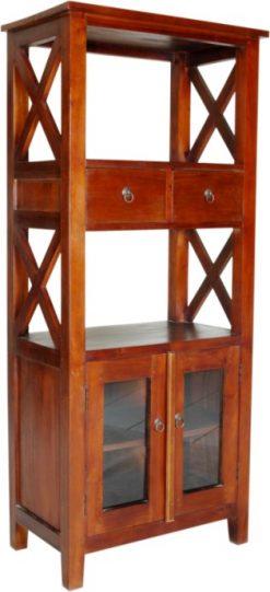 Toledo wooden book rack