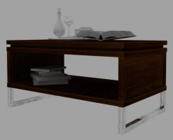 Moscow teak coffee table