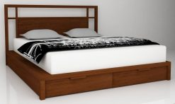 Sulawesi wooden bed