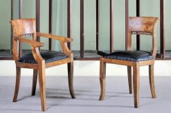 Italy Chair Black Leather