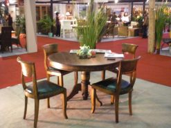 Italy round dining furniture