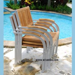 Jacko Stacking Arm Chair