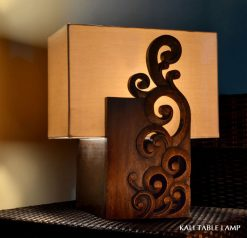 Java decorative table lamp