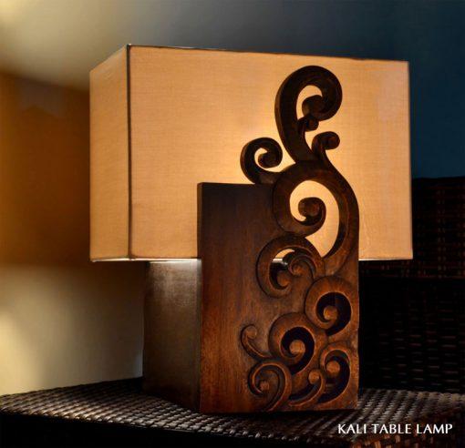 Java decorative table lamp