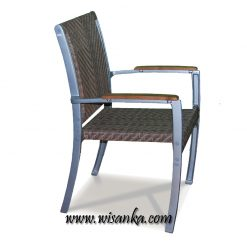 Charletta Stacking Chair Rattan