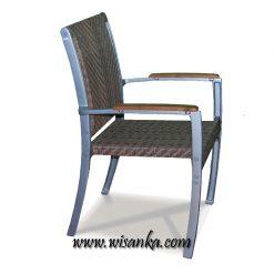 Charletta Stacking Chair Rattan