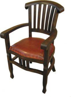 Slat Back Arm chair furniture