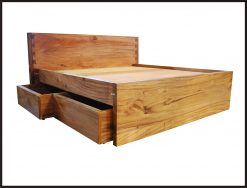 Magelang bed with drawer