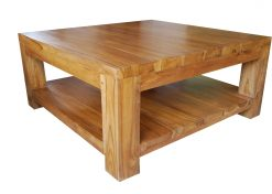 Vilnius wooden coffee table
