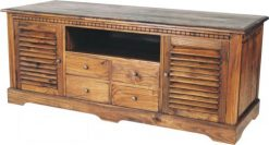India TV stand cabinet