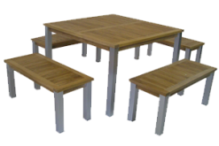 Swedia outdoor furniture set