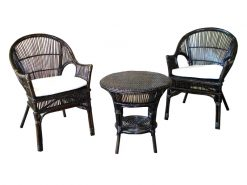 Moscow rattan living set