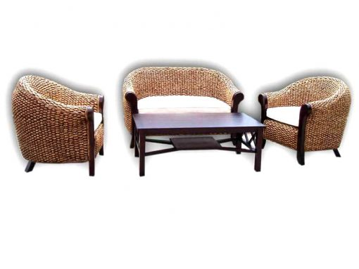 Santika rattan living set