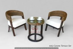 Caromi Terrace rattan living set