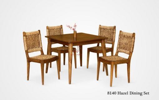 Hazel rattan dining set