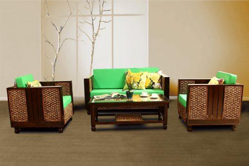 Nashwa rattan living set