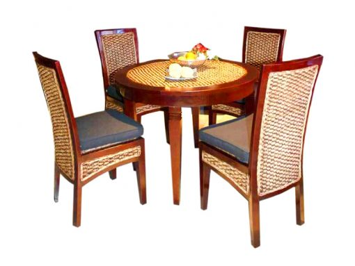 Montoya rattan dining set