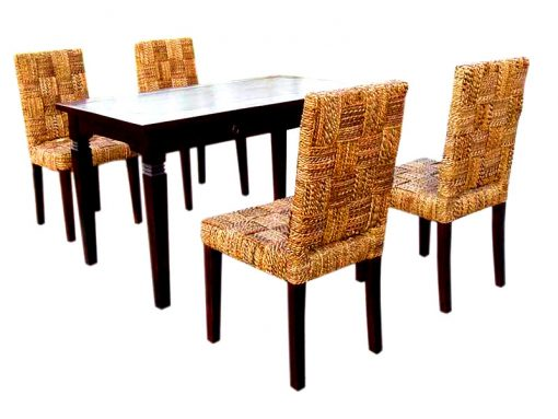 Mike rattan dining set