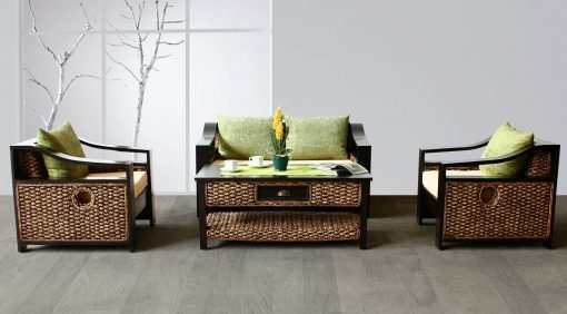 Carissa rattan living set