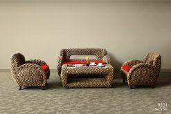 Merry rattan living set