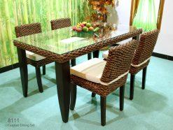 Caspian rattan dining set