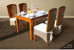Palm dining set