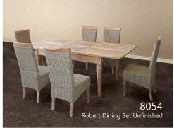 Robert rattan dining set