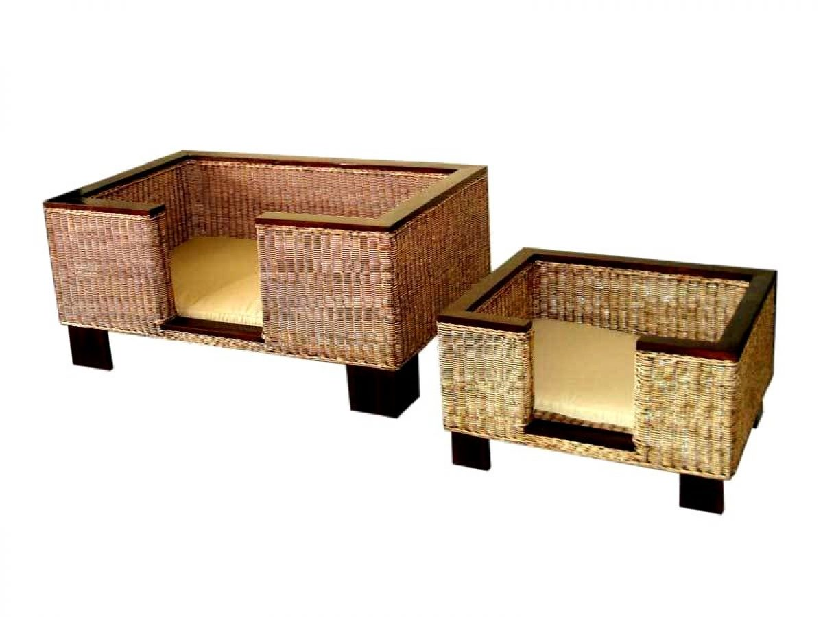 Rattan Dog Bed Rattan Miscellaneous Manufacture Asia Furniture