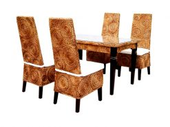 New Kayla Round Weave rattan dining set